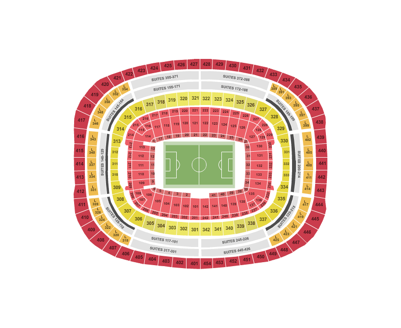 Plan Fedex Field