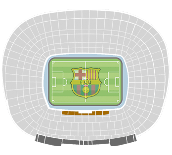 camp nou vip gold